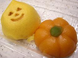 お菓子太子堂吉祥寺ロンロン店のかぼちゃまんじゅうとかぼちゃっこ