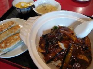 中華料理の定食