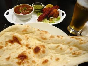 南・北インド料理SANTHI SAGARのマトンカレー&バーベキューセット