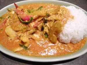 タイの食卓クルン・サイアムのタレー・パッポン・カレー