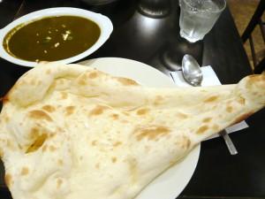 南・北インド料理 シャンティサガーのパラクパニール(ランチサービスセット)
