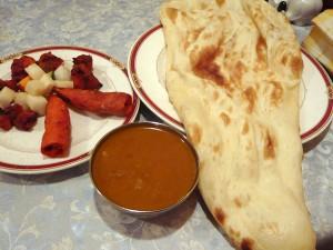 印度料理天竺やのタンドリーランチB