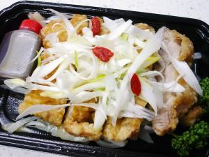 昇龍園の油淋鶏(ユーリンチー)