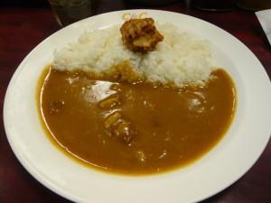 カレーショップC&C 吉祥寺店の朝カレーA(唐揚げ)