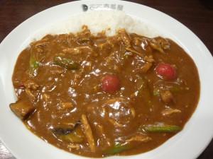 ココイチのチキンと夏野菜カレー2010
