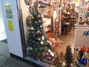 パルコ前雑貨店ディスプレイ