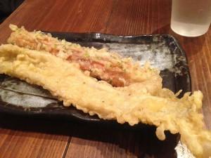 ちくわ天と穴子天@吉祥寺麺通団