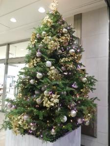 東急のクリスマスツリー2015