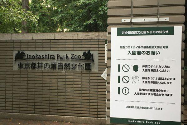 2020年6月5日の井の頭自然文化園